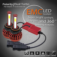 4-Side LED HID Headlight Kit 9006 HB4 9012 Low Beam for 1993-2013 Toyota Corolla