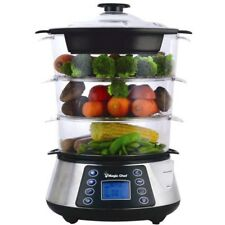 Magic Chef[r] Mcsfs12st 3-tier Electric Food Steamer