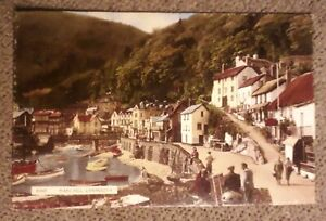 RP Postcard Posted 1966 Devon, Lynmouth, Mars Hill