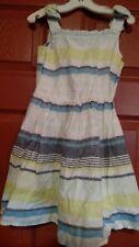 Gymboree girls blue safari dress size 7 nwt