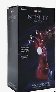 Marvel Iron Man Tony Stark Repulsor Glove LED Collectble Desk Lamp/Light NEW