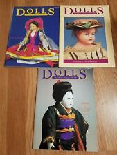 DOLLS The Collectors Magazine - Lot of 3 Magazines 1984