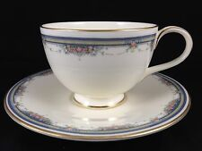 Royal Doulton White ALBANY Cup and Saucer H5121