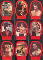 Rocky II (2) - Complete 22 Sticker Trading Card Set - 1979 Topps - NM