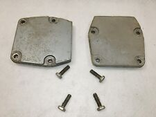 Evinrude Johnson Outboard Motor Midsection Lower Mounting Bracket Covers 4 Bolts