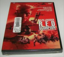 Red Scorpion (1988) DVD New/Sealed Dolph Lundgren Full Screen Edition