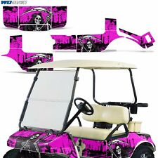 Club Car Graphic Kit Golf Cart Decal Sticker Wrap Accessories Parts 83-14 REAP P