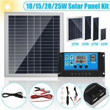 Clip Controller Solar Boat For Car Panel+Solar HOT RV 10/15/20/25/50W Alligator