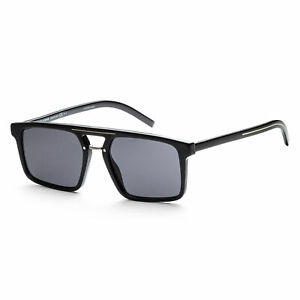 Christian Dior Men's BLACK262S-0807-2K Homme Black Tie 54mm Black Sunglasses