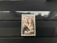 France 1954, 1 used stamps, VF for the red cross  CV $16 Y&T 1007
