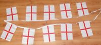 3M St George England 10 Flag Bunting Decoration 2018 World Cup Fan Supporter