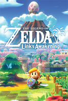 LEGEND OF ZELDA - LINK'S AWAKENING POSTER - 24x36 - 3466