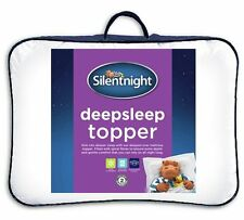 Double Matress Topper Silentnight Mattress Pad Cover Bed Anti Allergy Bed Fold