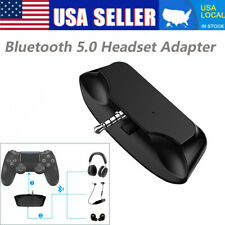 Bluetooth Headset Audio Adapter Dongle Receiver For Sony Playstation 4 PS4 USA