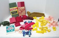 Large Lot Dennison Paper Flower Making Supplies All Colors How To Booklet