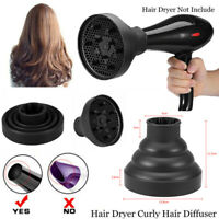 Salon Professional Universal Silicone Hair Dryer Diffuser Cover Foldable Travel