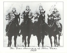 "The Four Horsemen of Notre Dame 8-1/2"" x 11"" photo print picture 1924 football"