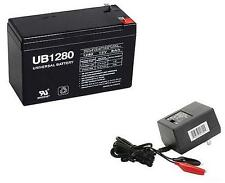 UPG 12V 8AH F2 Replacement Battery for Bruno SRE-1550 Electra-Ride II WITH CHARG