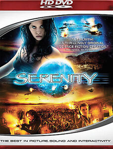 SERENITY (RARE OOP HD-DVD, 2006) NEW FACTORY SEALED! FIREFLY TV SERIES CONTINUED