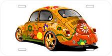VW Beetle Bug Aluminum Novelty Auto License Plate