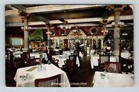Spokane WA, Davenport's Restaurant, Dining Room Vintage Washington Postcard  Z19