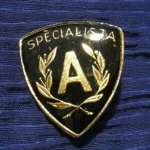 """PIN SPILLA MILITARE - """" SPECIALISTA """" ESERCITO ITALIANO / ALPINI"""
