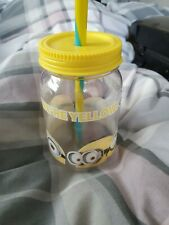 Despicable Me Minions Cup with Straw