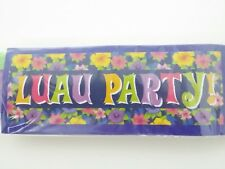 Luau Party Banner 60 in. x 20 in.