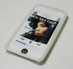 Soft Silicone Case For Apple Ipod Touch 2 (Translucent)