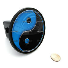 "2"" Tow Hitch Receiver Plug Cover Insert For SUV's & Trucks - ""Yin Yang"""
