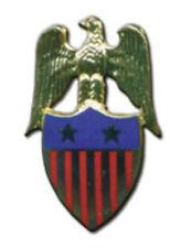 Us Usa Patriot Veteran Eagle July Parade Award City Town Political Pin Badge Vfw