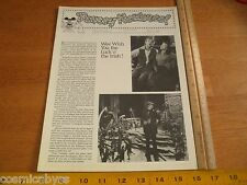 Disney Newsreel WED MAPO Employees mag 1981 Darby O'Gill Luck O' the Irish St. P