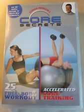 Gunnar Peterson's Core Secrets Fitness Dvds [2] ~ 25 Minute Full-body Workout