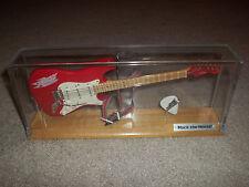 Rare Disney's MGM Studios Rock'n' Roller Coaster Guitar W/ Pick In Display Case
