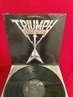"""Triumph LP~""""Allied Forces""""~(RCA/US•1981*AFL1-3902)"""
