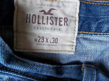 Holister denim jeans size 29 x 30 measure  TAG READS 28 x 30
