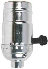 Socket Turn Knob On/Off Nickel,No 60402, Jandorf Specialty Hardware, 3Pk
