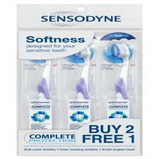 Sensodyne Sensitive teeth complete protection toothbrush buy 2 free 1