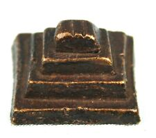 Art African - Antique Weight Bronze in Weigh L'or Goldweight Pyramid - 2,5 CMS