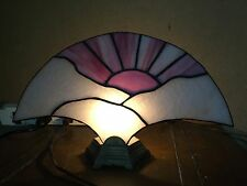 Stained Glass Tiffany Style slag Night Light Table Desk Lamp art deco style 13""
