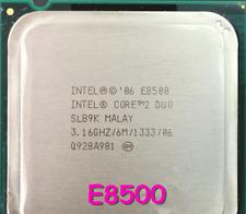 Intel Core 2 Duo E8500 / 3.16GHz / 6MB / 1333MHz 775 Desktop Processor