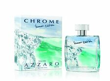 Chrome Summer Edition by Azzaro 100ml 3.4oz Men's EDT Spray in original pack