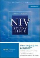 Zondervan NIV Study Bible by Zondervan , Leather Bound