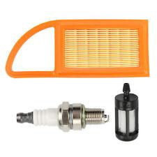 Air Filter For Stihl Blower BR500 BR550 BR600 42821410300 Spark Plug Fuel Filter