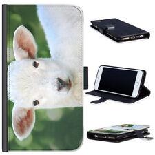 Fundas con tapa Para Huawei Y6 color principal blanco para teléfonos móviles y PDAs