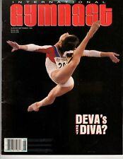International Gymnast Aug 1993 Andreea Cacovean Shannon Miller  Lavinia Milosovi