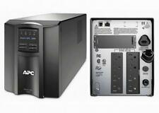 APC SMT1500 Smart-UPS Power Backup, LCD 1500VA 1000W 120V Tower, New Batteries