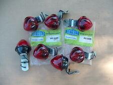 7 NOS TUFF-BILT RED CLEARANCE MARKER LIGHTS 002-34080