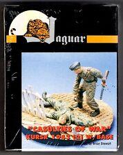 "JAGUAR MODELS 63042 - ""CASULTIES OF WAR"" KURSK 1943 (2 w/base) -1/35 RESIN KIT"