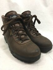 Brown Leather Hiking Boots Vasque Skywalk Mens 7.5 Trail Shoes Gore-Tex Italy